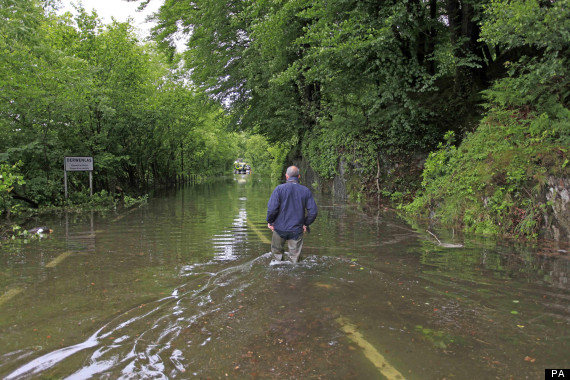 wales flood