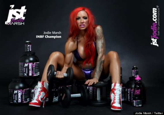 Question Jodie marsh muscle