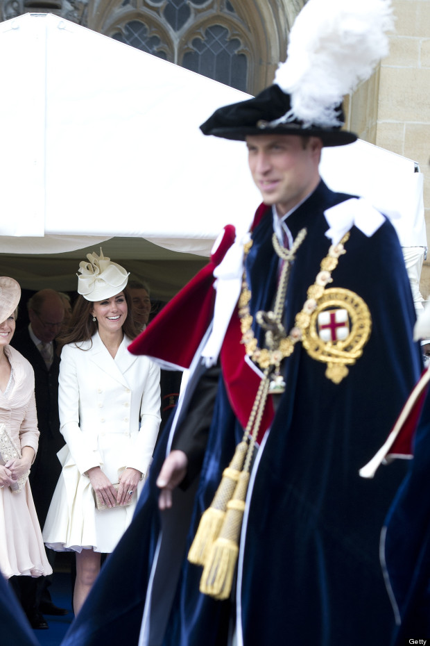 kate william order of the garter