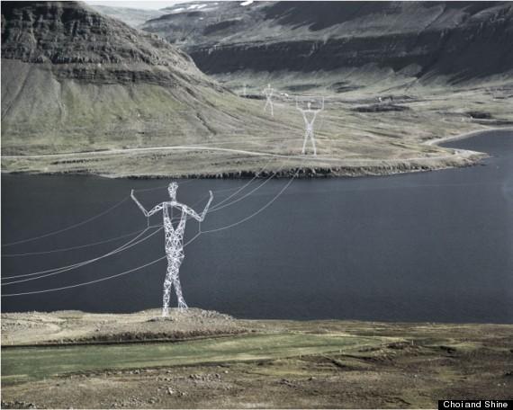 giants pylons