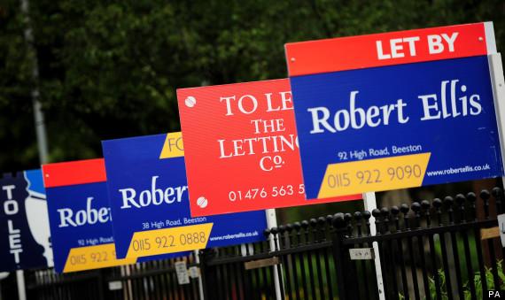 uk housing rents up