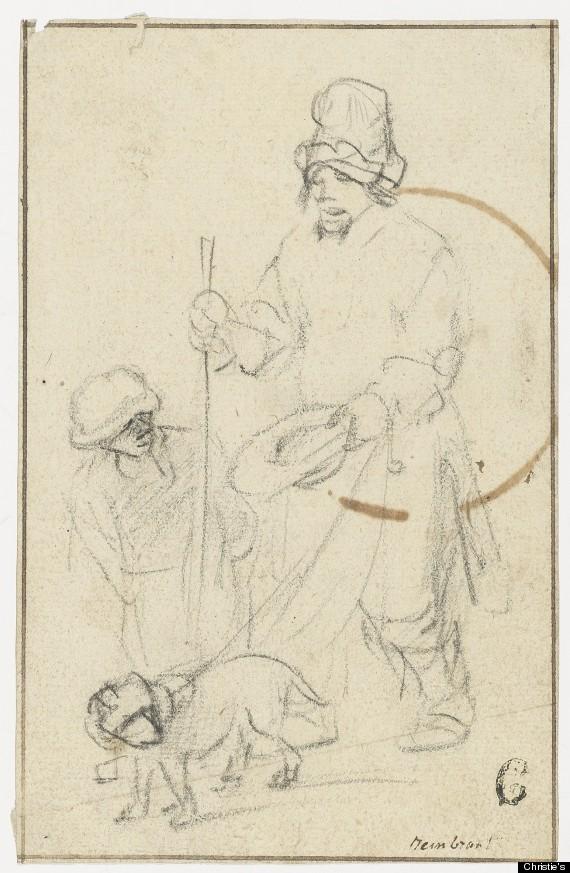 rembrandt sketch