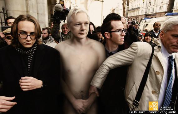 vanguardia magazine julian assange