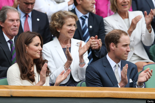 will and kate at wimbledon