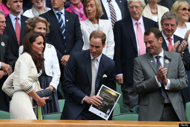 kate and will at wimbledon