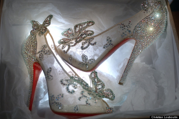 cinderella shoe christian louboutin