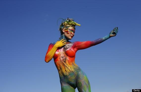 bodypainting art