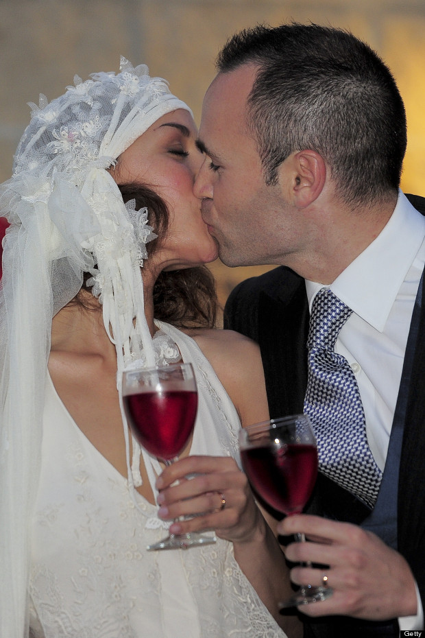 iniesta wedding