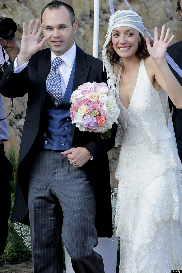 andres iniesta wedding