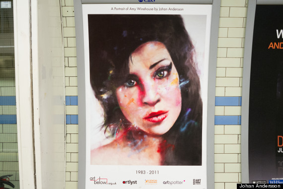 amy winehouse poster camden town