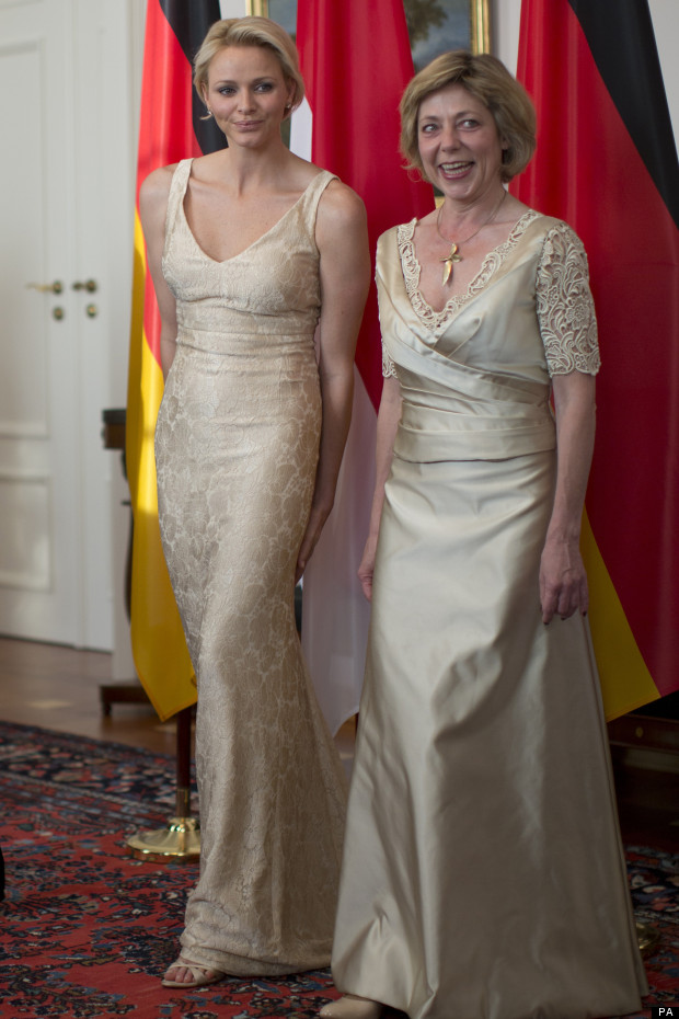 princess charlene german state visit