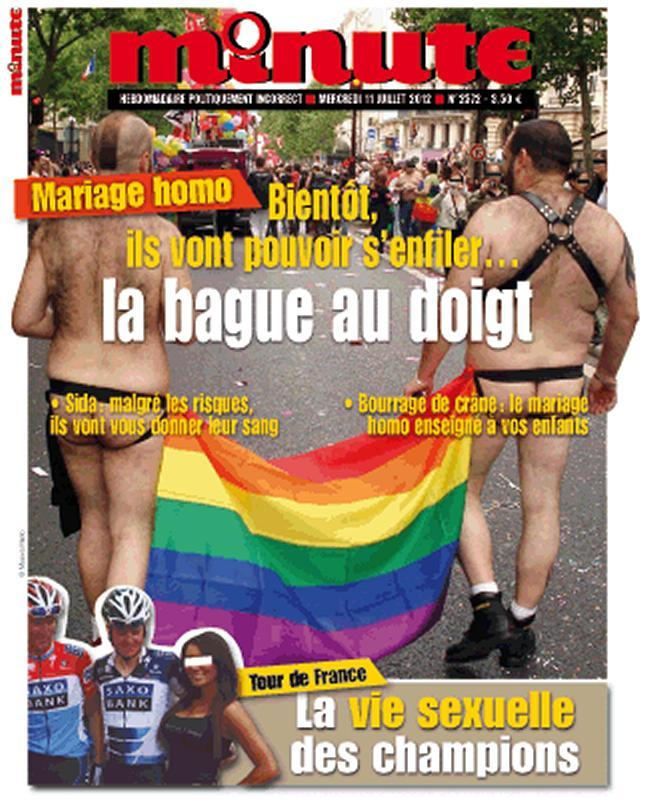 minute mariage gay