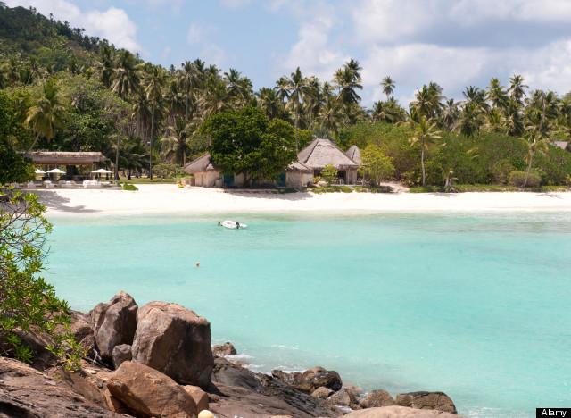 beach huts north island