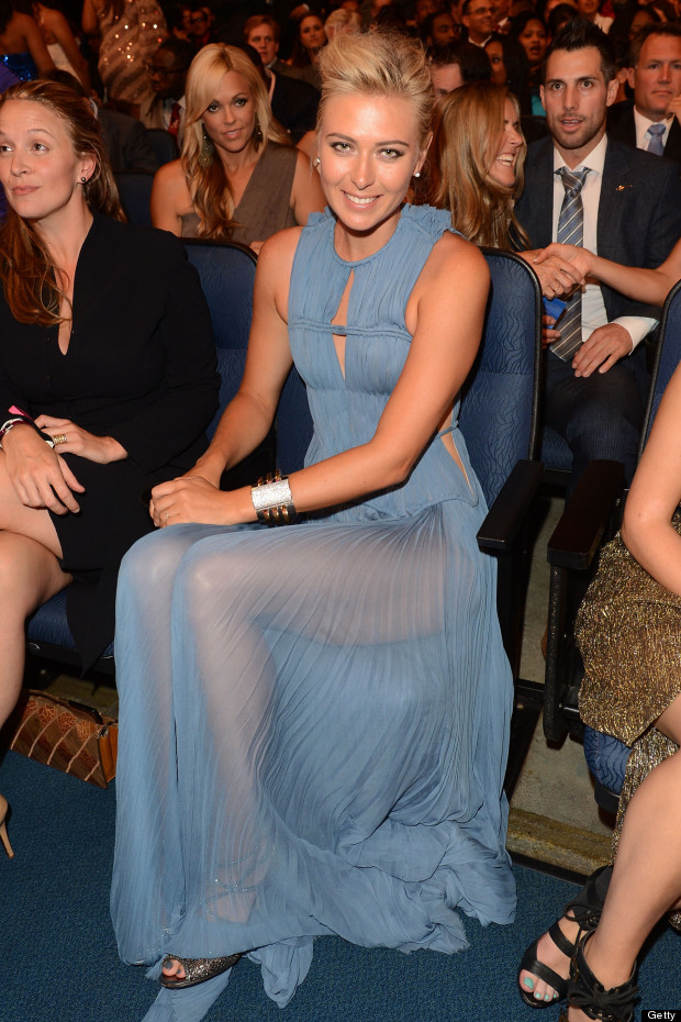 maria sharapova espy awards 2012