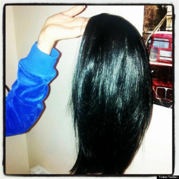 tulisa black wig