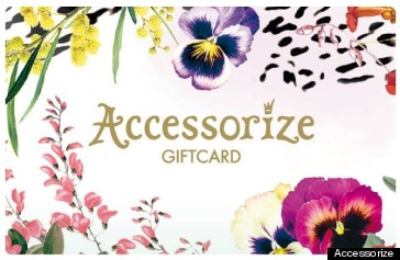 accessorize gift card ss12