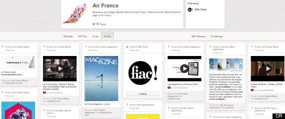 capture air france