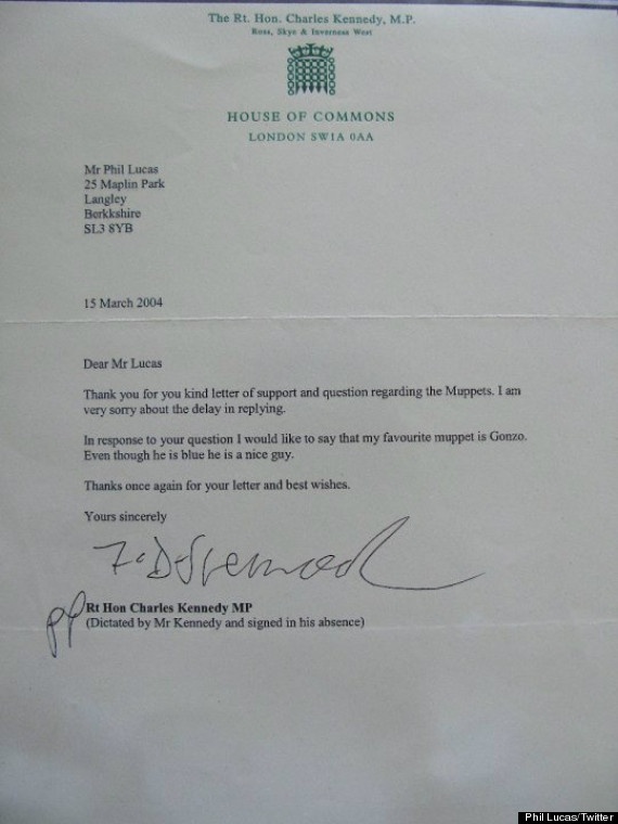 kennedy gonzo letter