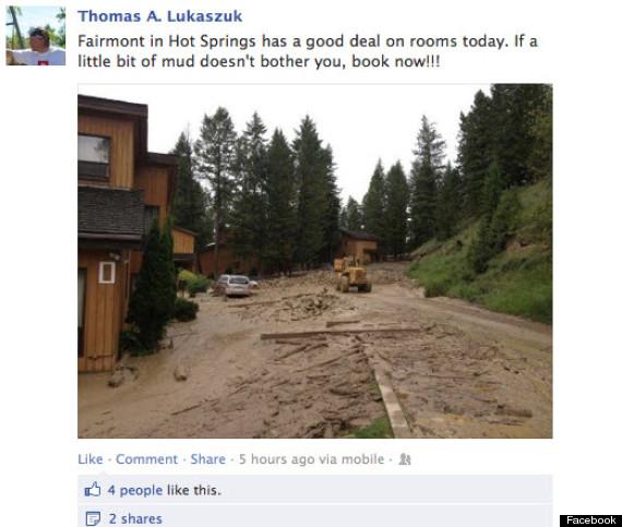 thomas lukaszuk facebook mudslide