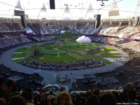 olympic opening rehearsal