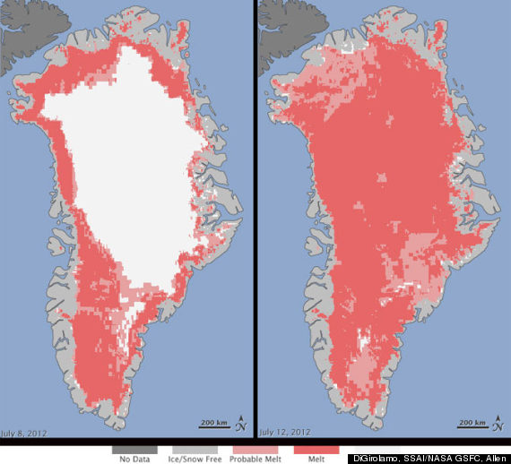 nasa greenland ice melt