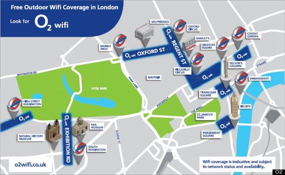 o2 wifi london