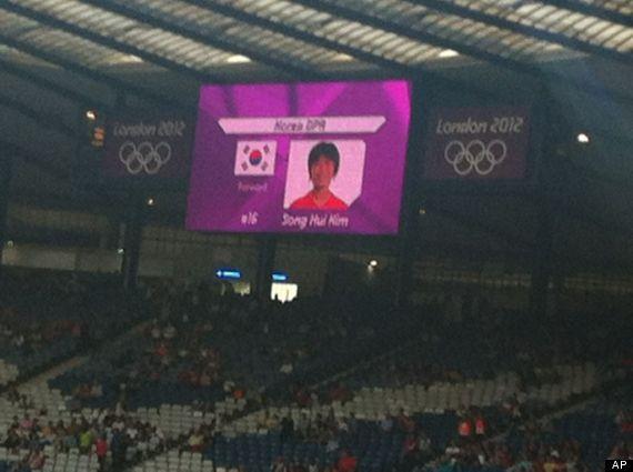 olympics north korea flag