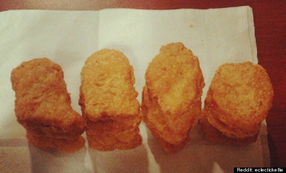 mcnugget shapes