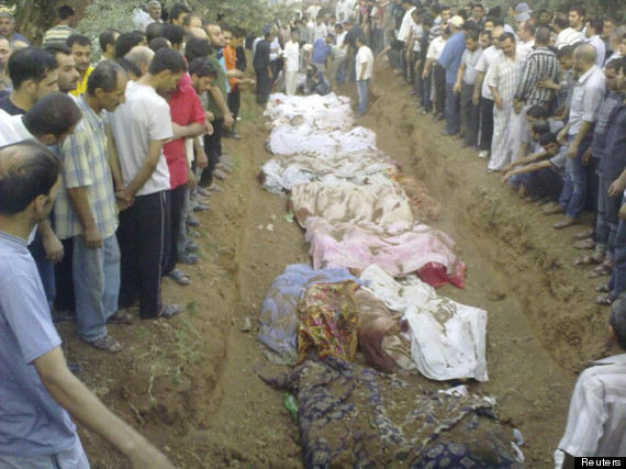 damascus mass burial