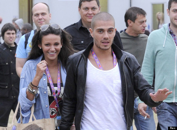 michelle keegan max george