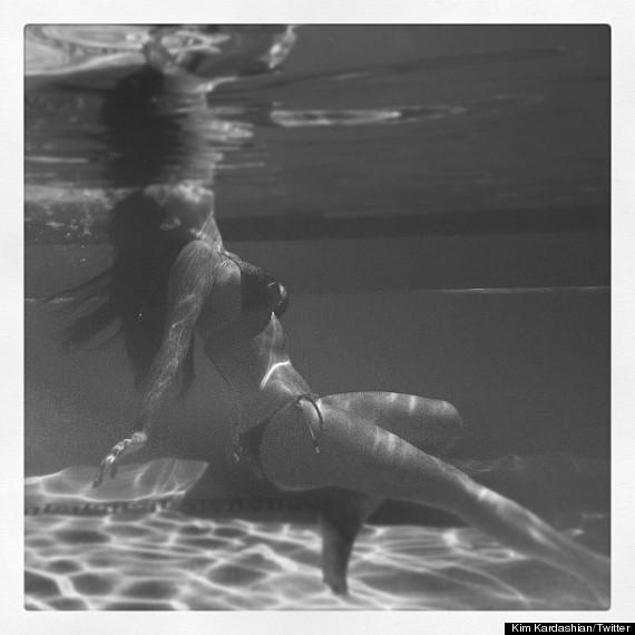 Has kim kardashian underwater bikini useful idea