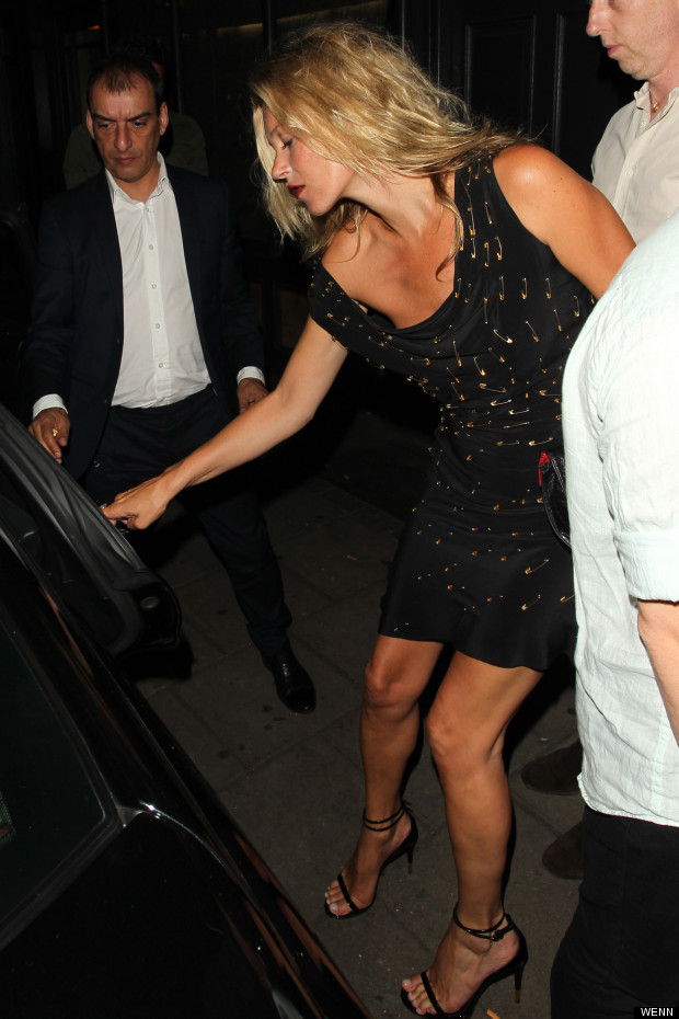 Pin Ups Kate Moss Parties In London With Tulisa And Co Huffpost Uk