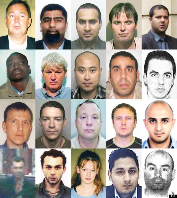 20 tax fugitives