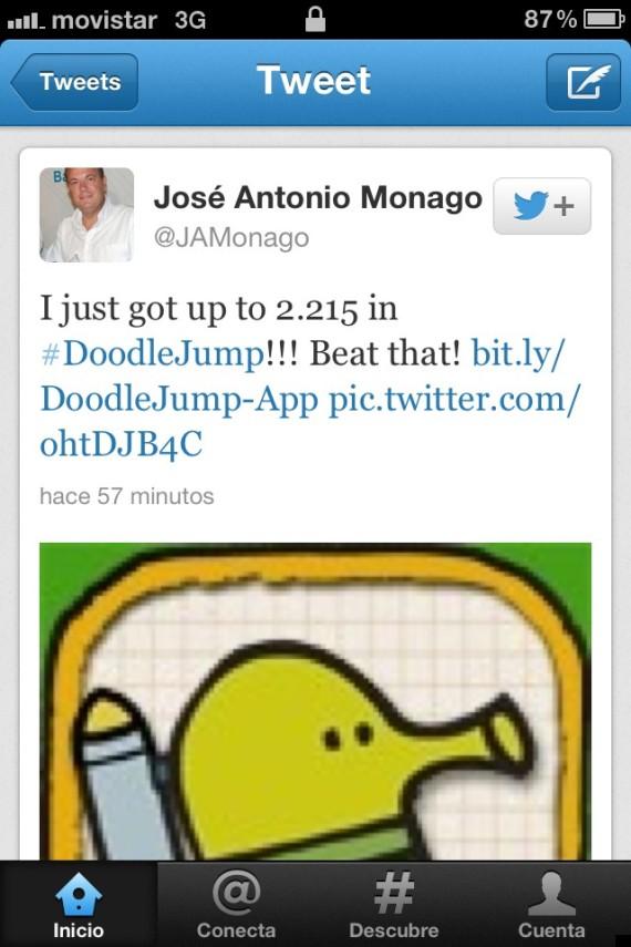 monago twitter