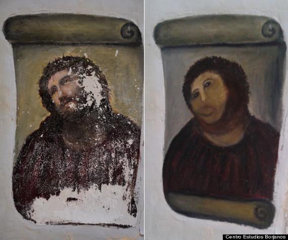 chapuza restauración cuadro zaragoza