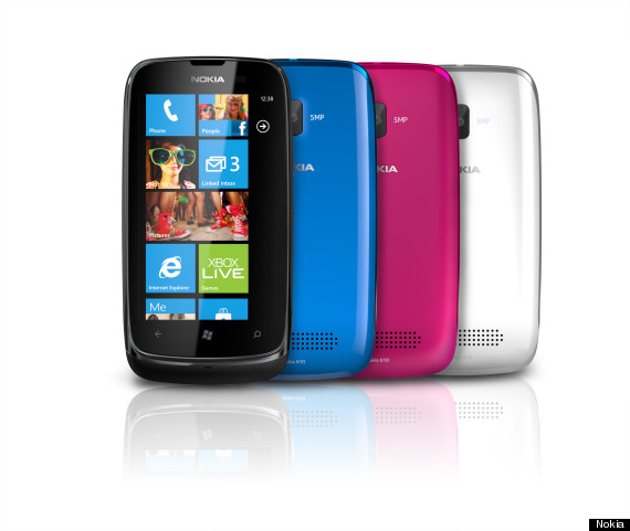 nokia lumia 610 competition