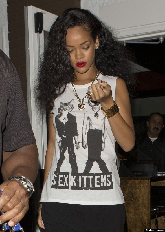 Sex pictures rihanna New