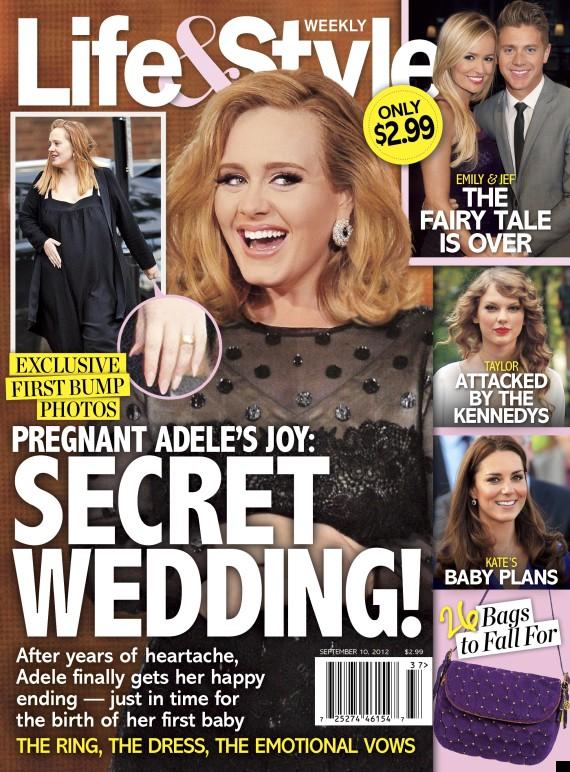 has adele got married