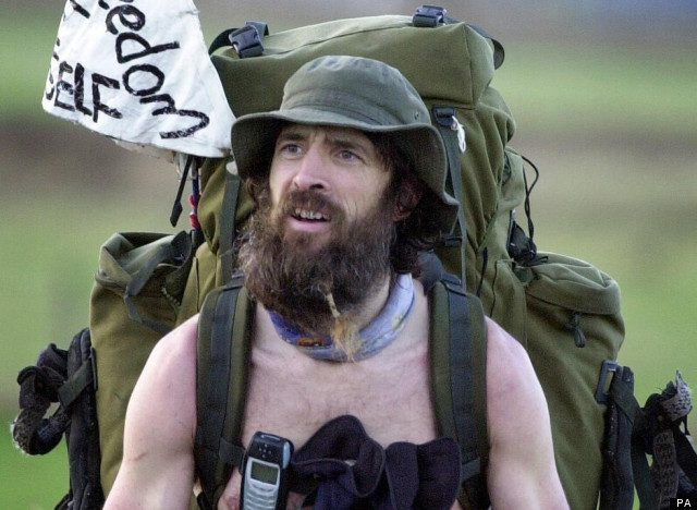 Naked Rambler Stephen Gough jailed again   The Independent