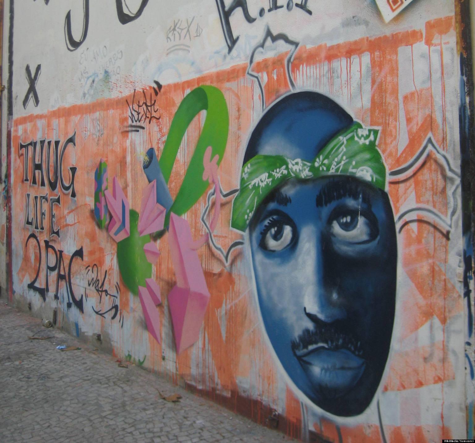 Tupac shakur jesus and resurrection power huffpost for 2pac mural new york