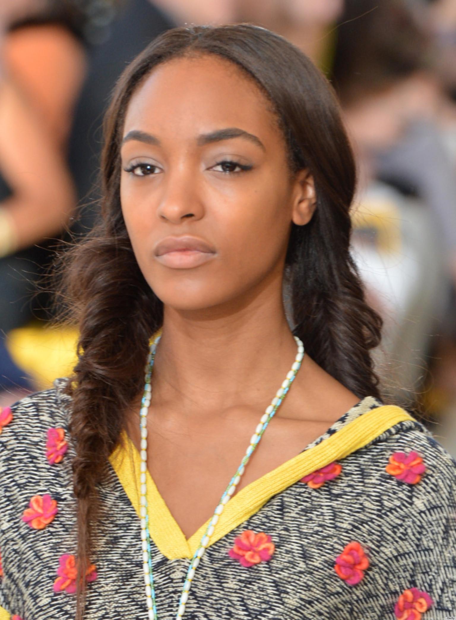 New York Fashion Week Backstage Beauty: Fishtail Braids At Tory ...