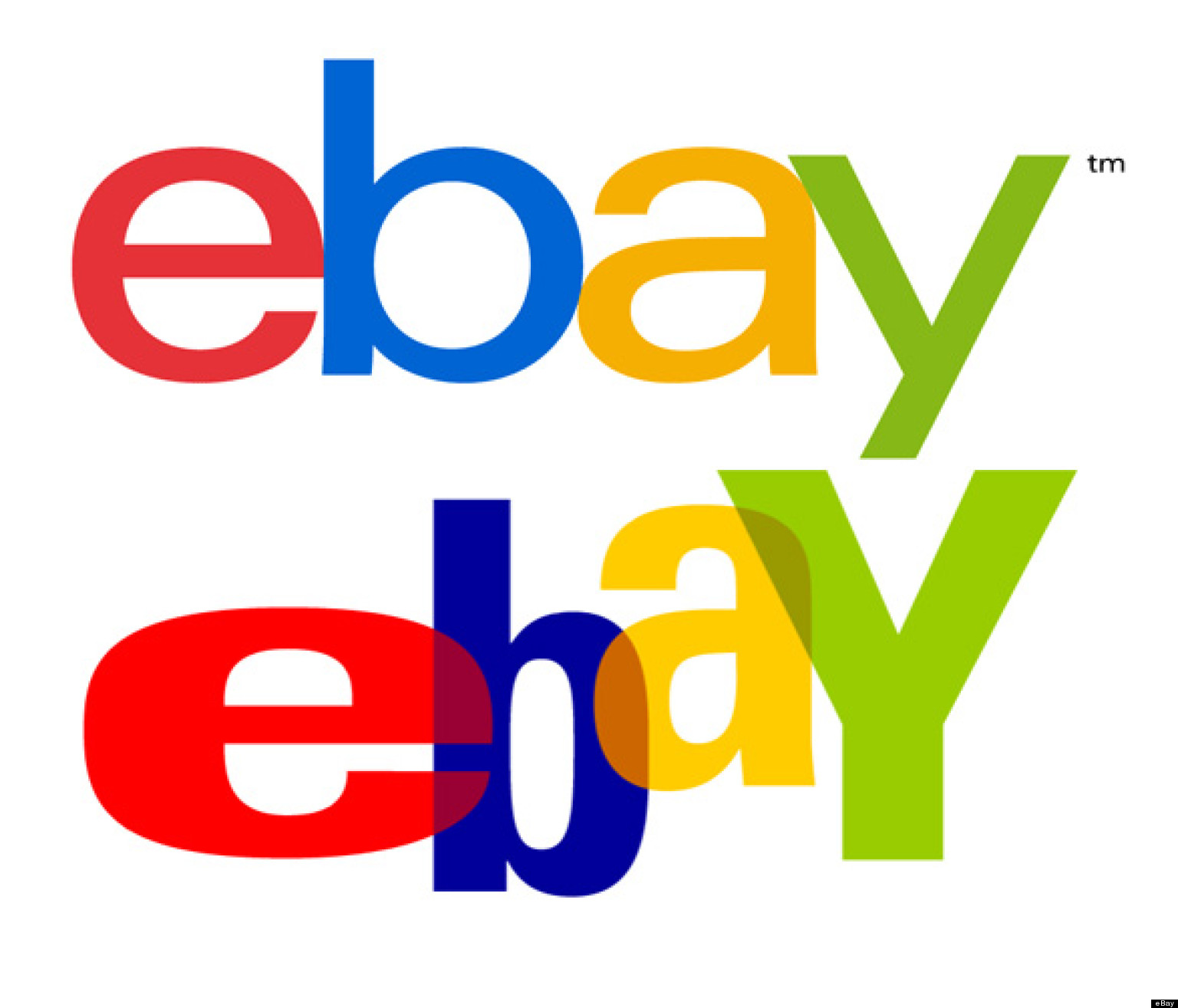 eBay New Logo: A Lot Like The Old Logo, But With A Cleaner Font ...