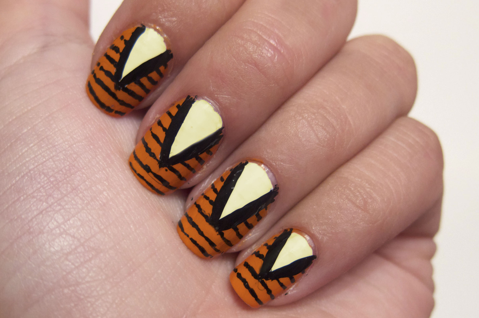 DIY Nail Art: Rodarte Fall 2012-Inspired Manicure (PHOTO) | HuffPost