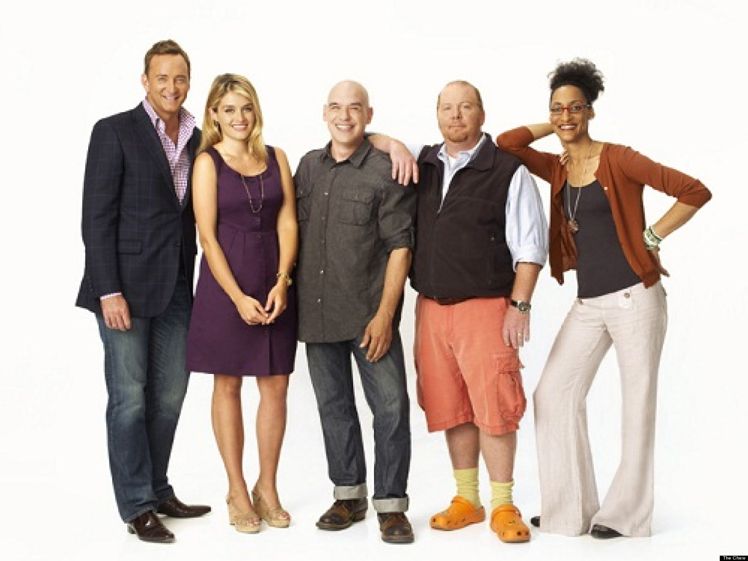 the chew one year in for abc s daytime food show huffpost