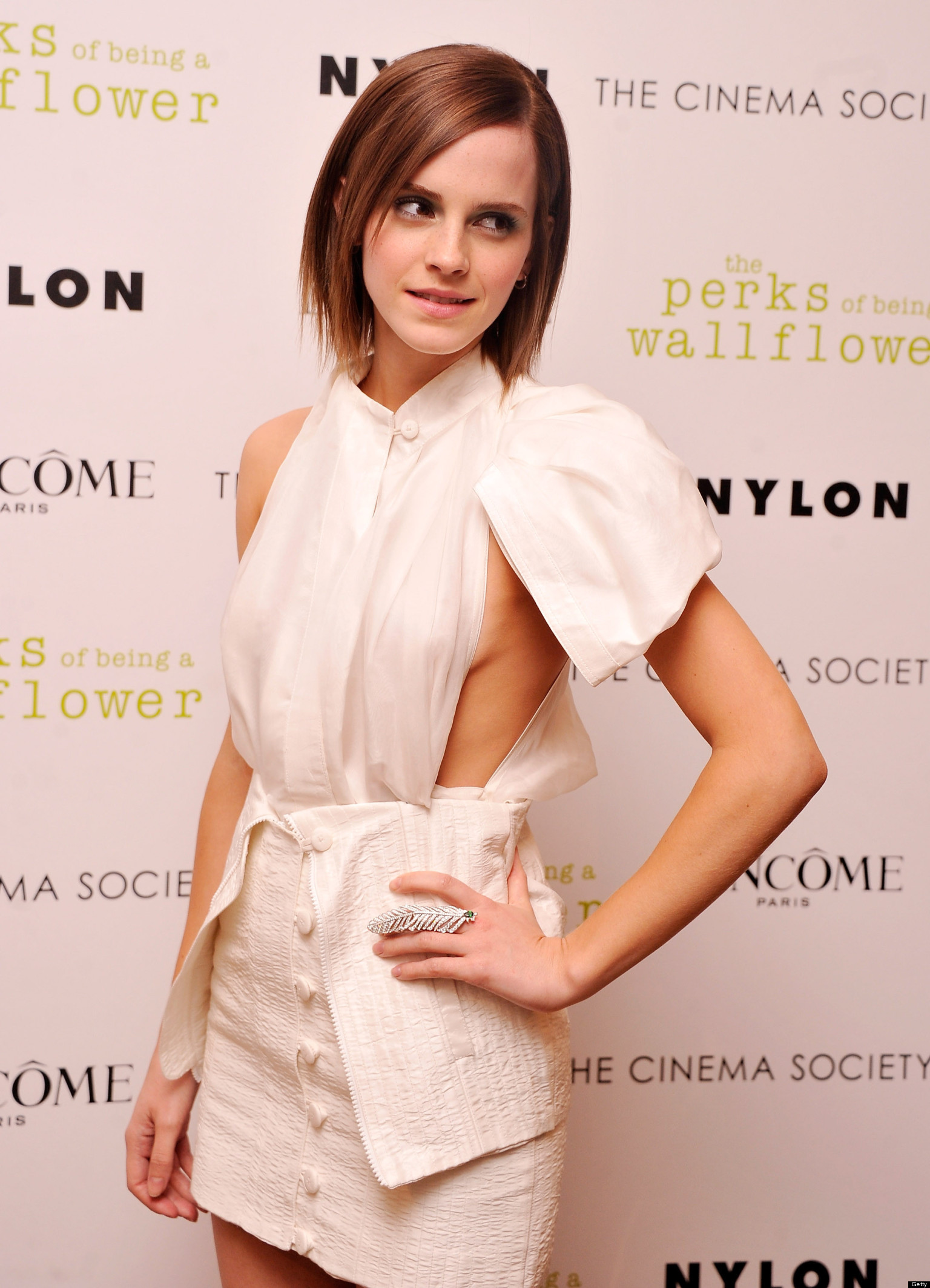 Emma Watson Flashes Sideboob At Perks Of Being A -4705