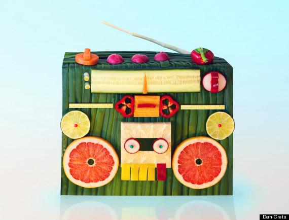 food stereo