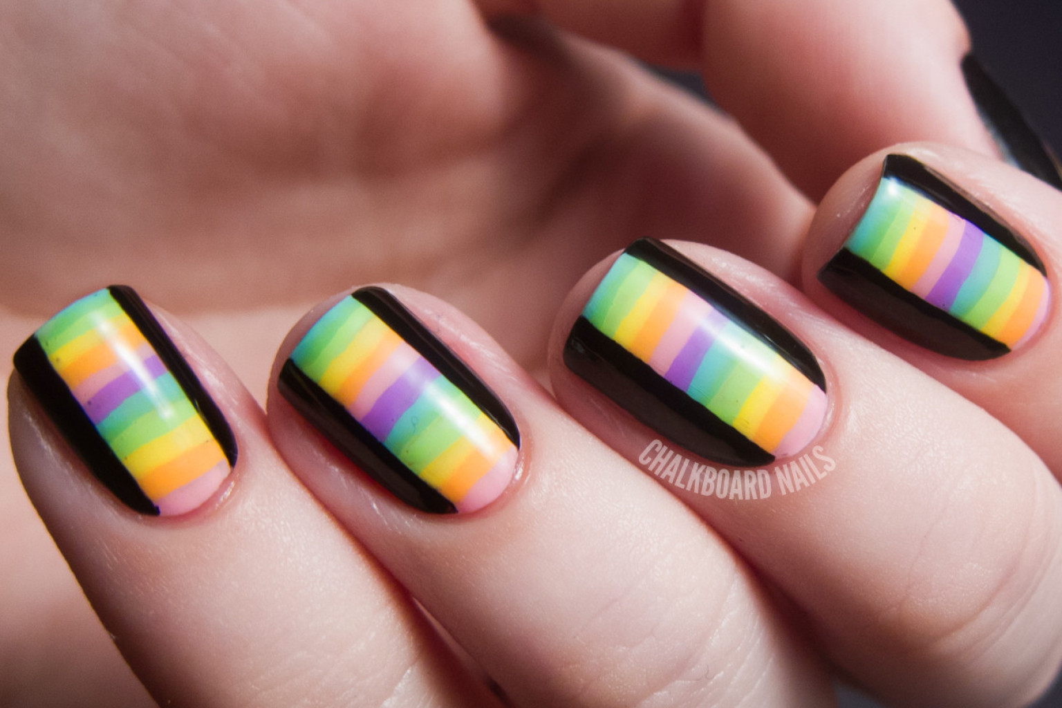 Diy nail ideas kaleidoscope nail art and more of our manicures from diy nail ideas kaleidoscope nail art and more of our manicures from this weekend photos huffpost solutioingenieria Image collections