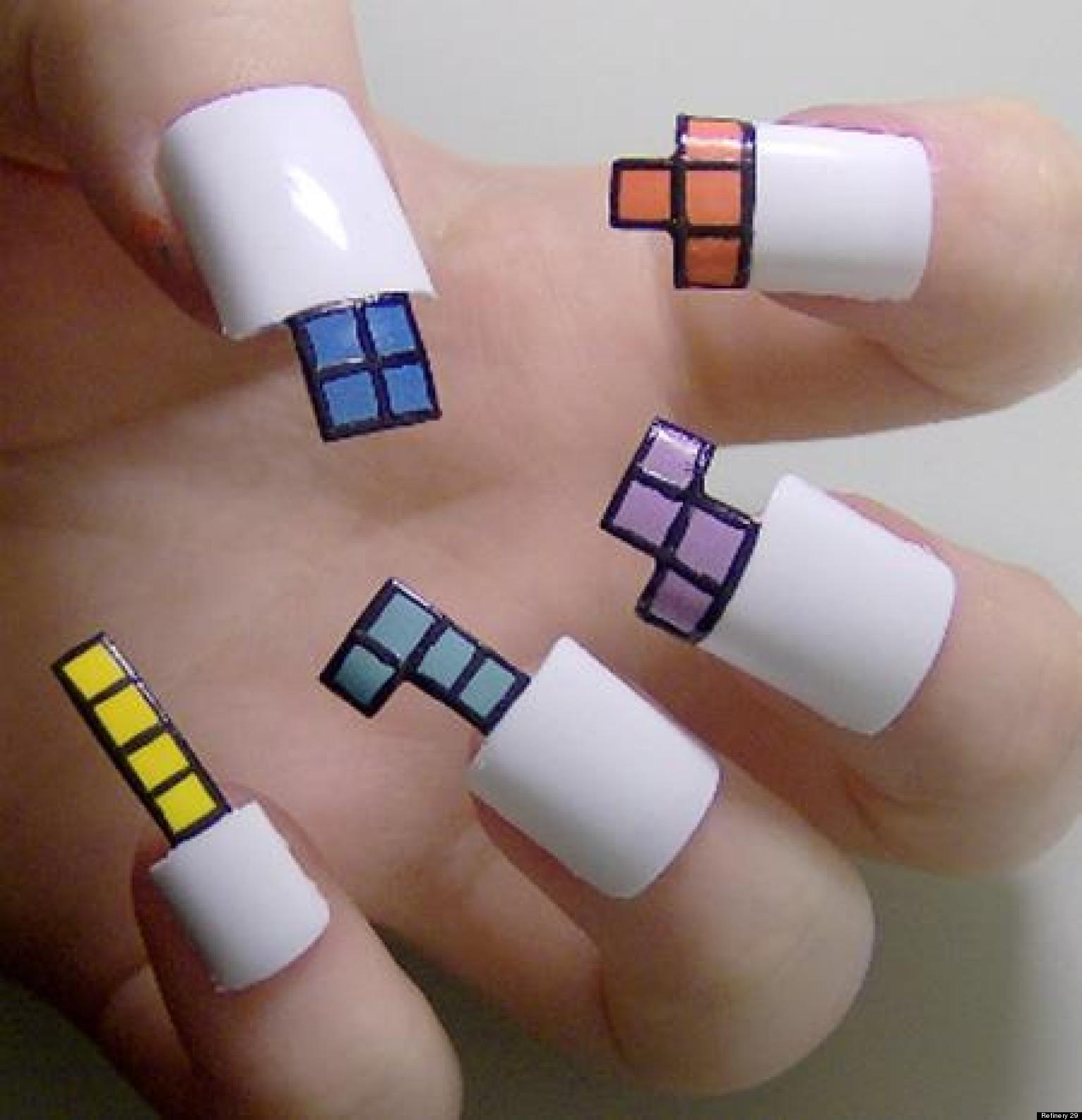 11 of the weirdest manicures weve ever seen photos huffpost prinsesfo Images