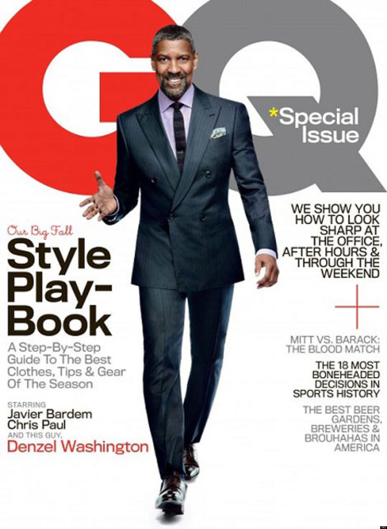 Denzel Washington Body