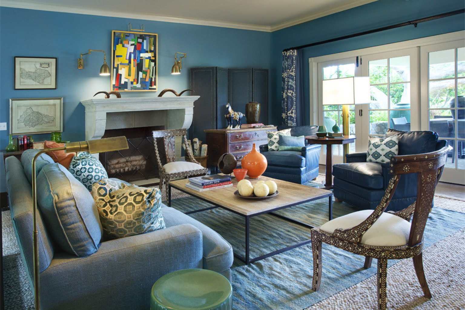 Designer showhouse take a tour of the santa barbara for Santa barbara style house